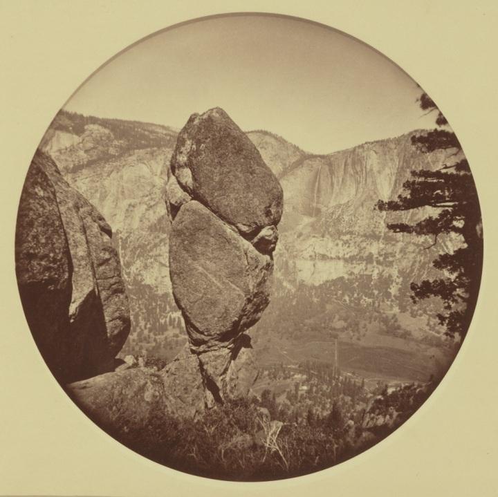 31 CEW, Agassiz Column, Yosemite, ca. 1878, JPGM 1000