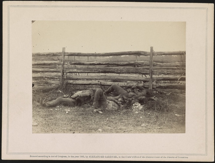 4 Alexander Gardner, Killed at the Battle of Antietam, 1862, LOC