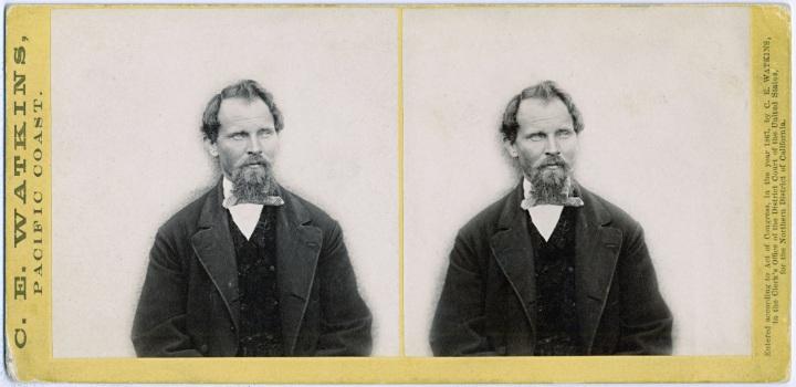 4 CEW, Portrait of John Stevenson, 1867, OHS 1500