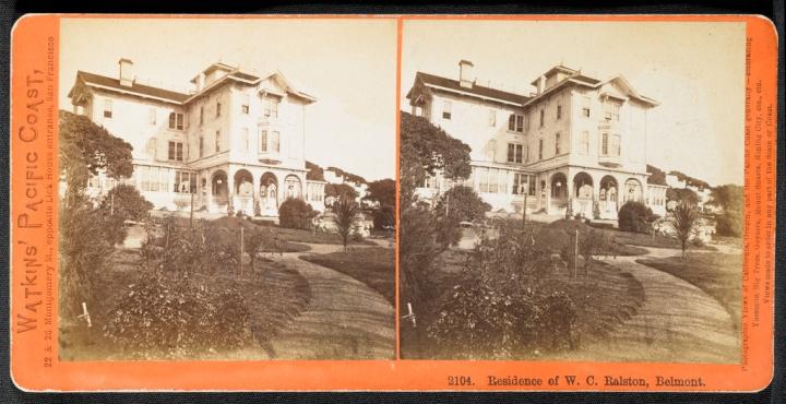 4 CEW, Residence of WC Ralston, Belmont, ca. 1865-75, JPGM