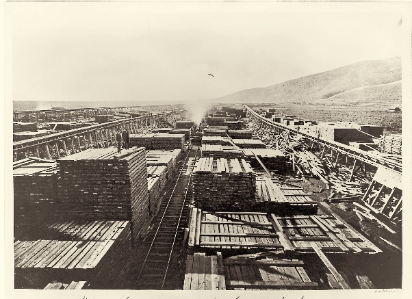 5 CEW, Carson and Tahoe Lumber and Fluming Co., South of Carson City, Nev., 1876, NSM