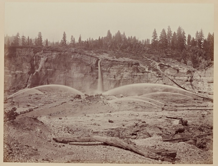 5 CEW Malakoff Diggins, near North Bloomfield, Nevada County, ca. 1871, SUL 1500