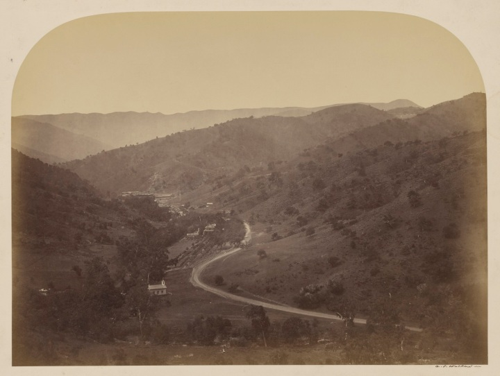5, CEW, New Almaden Quicksilver Mines, General View, 1863, JPGM 1500