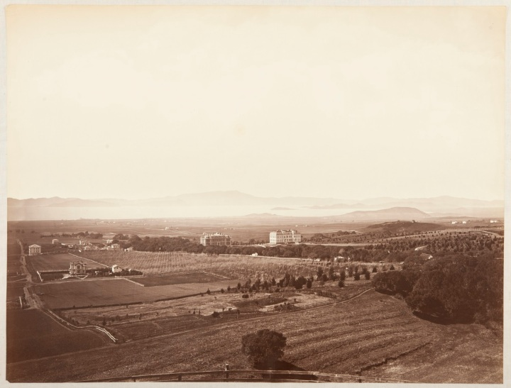 5 CEW, View from the University Grounds, Berkeley, Alameda County, 1874, CSL 1500