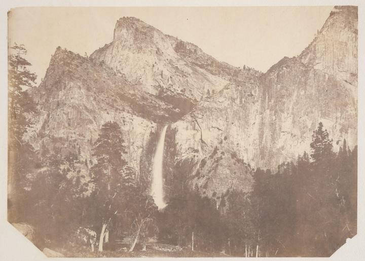 5 Weed, Bridal Veil Fall, 1859, BANC