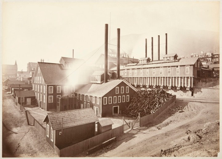6 CEW, Consolidated Virginia and California Mining Co., Storey County, Nev., 1876, CSL 1500