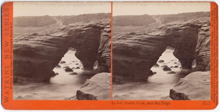 6 CEW, La Joli, Pacific Coast, near San Diego, ca. 1877, CSL 1500