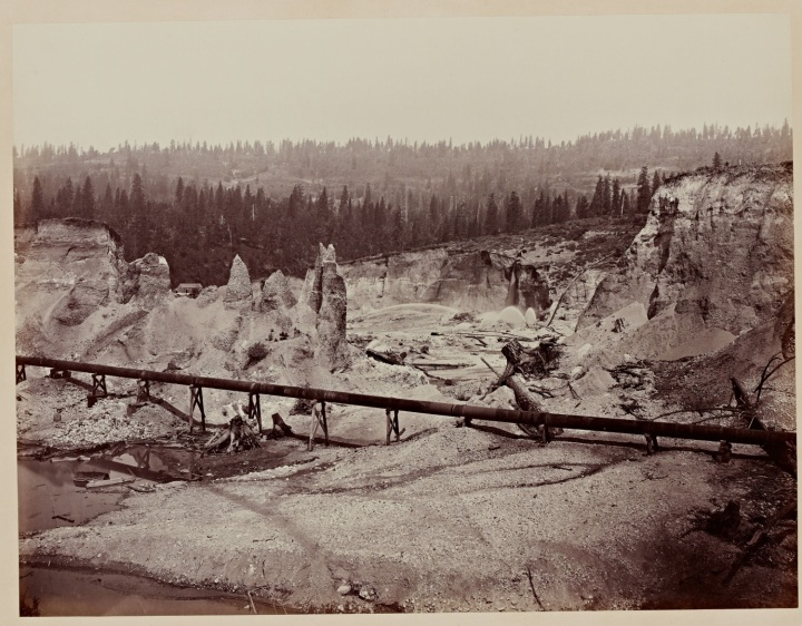 6 CEW, Malakoff Diggins, near North Bloomfield, Nevada County, Calif., ca 1871, SUL 1500