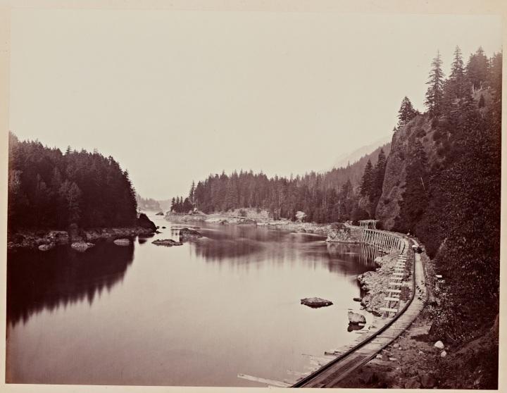 7 CEW, Eagle Creek and Tooth Bridge, Columbia River, Oregon, 1867, SUL 1500
