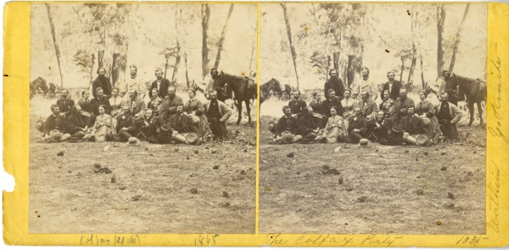 7 CEW, The [Schuyler] Colfax Party, 1865, SCP 1500