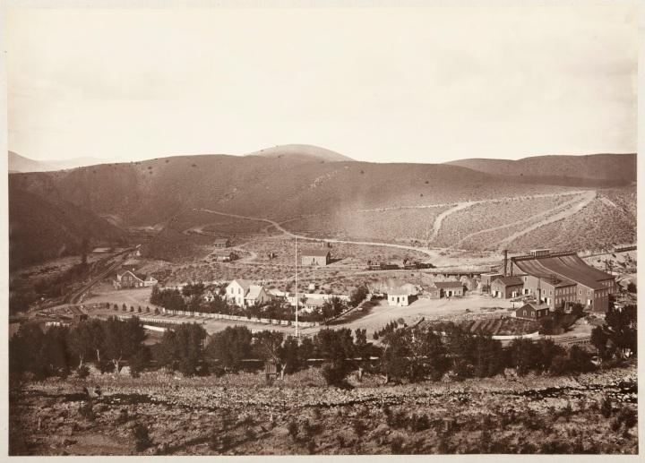 8 CEW, Brunswick Mill, Lyon County, Nev., 1876, CSL 1500