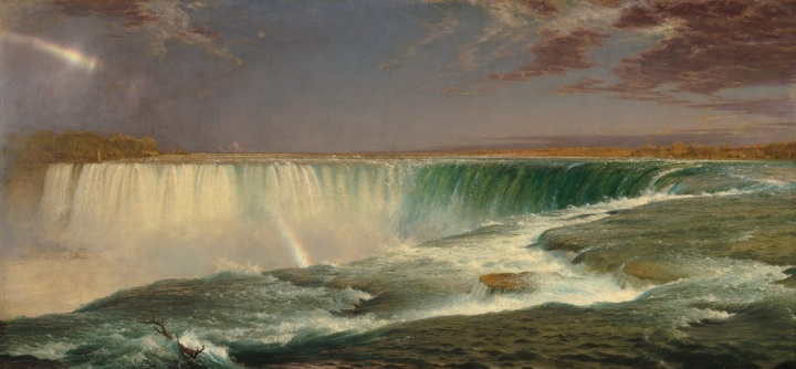 8 Frederic Church, Niagara, 1857, NGA