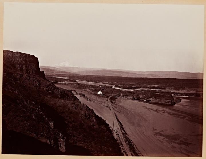 9 CEW, Mount Hood and The Dalles, Columbia River, Oregon, 1867, SUL 1500