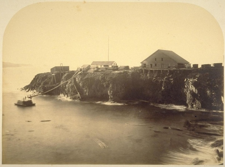9 CEW, The Gang Mill, Mendocino, 1863, BANC