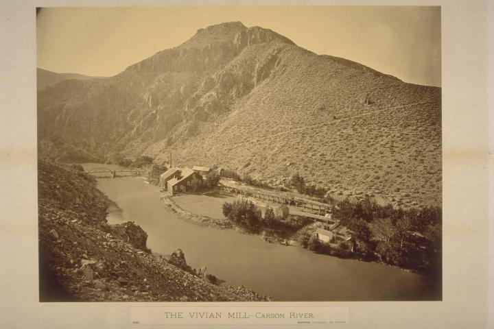9, CEW Vivian Mill, Lyon County, Nev., 1876, BANC