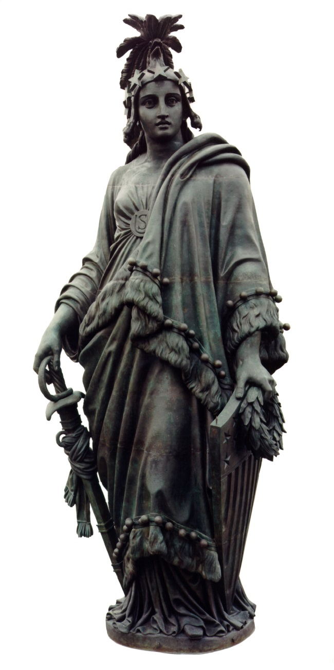 9 Thomas Crawford, Statue of Freedom, 1857-62, AOC 650
