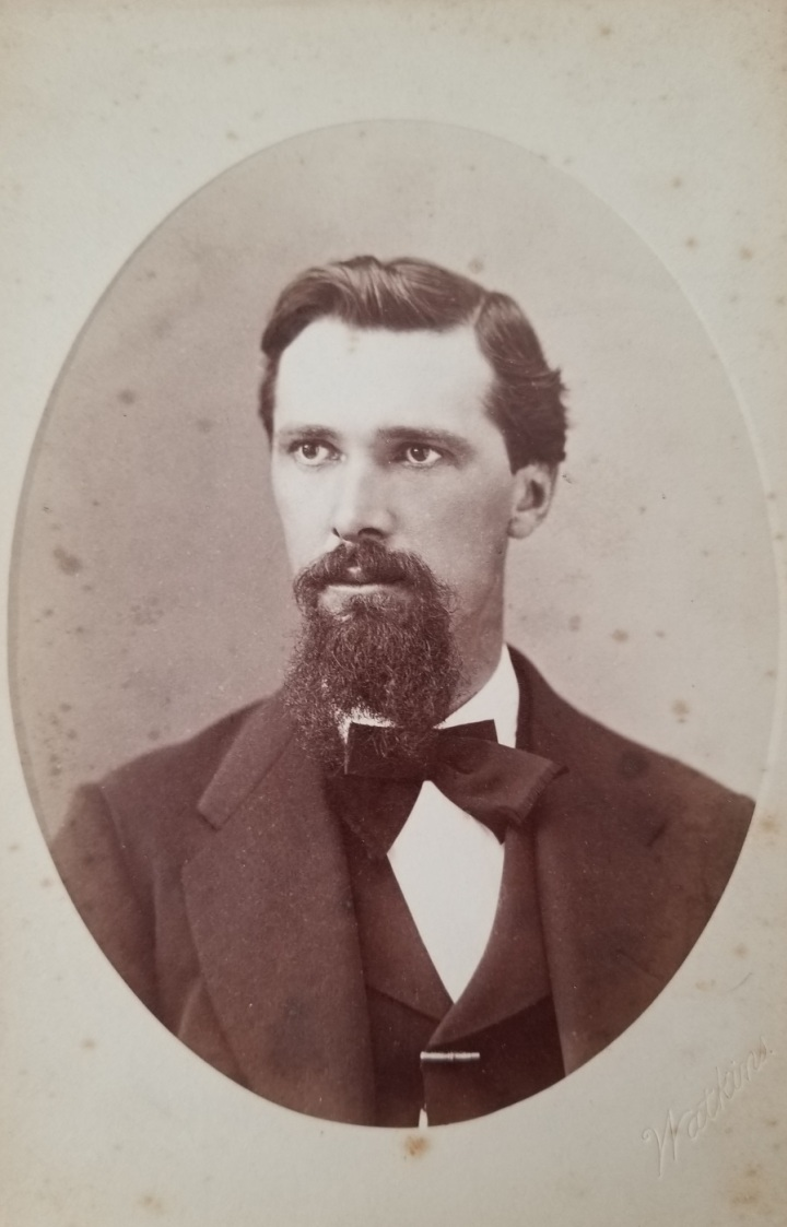 CEW, William H. Lawrence. ca. 1872-75, authors collex 1400