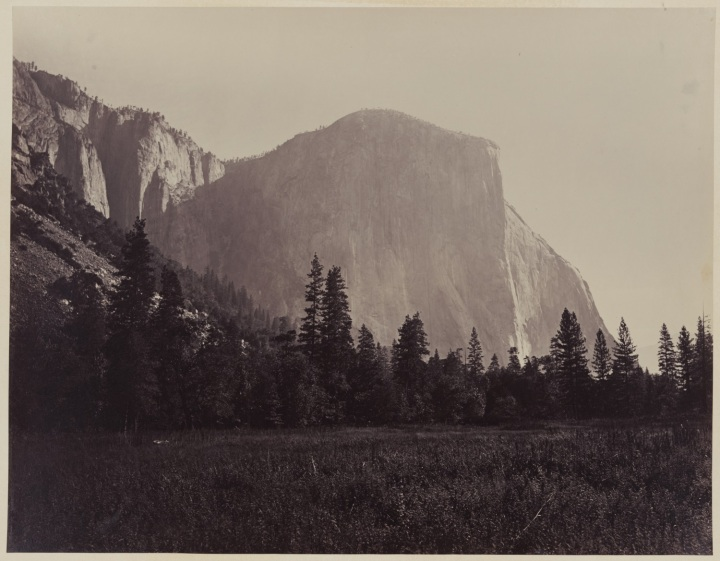 El Capitan, Yosemite Valley, 1861, LOC