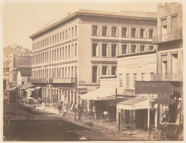 George R. Fardon, Montgomery Block, ca. 1855