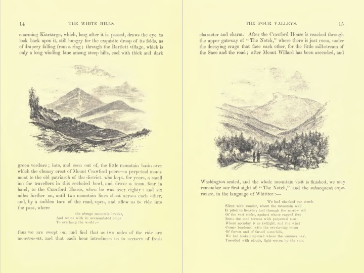 Sample illustrations from The White Hills
